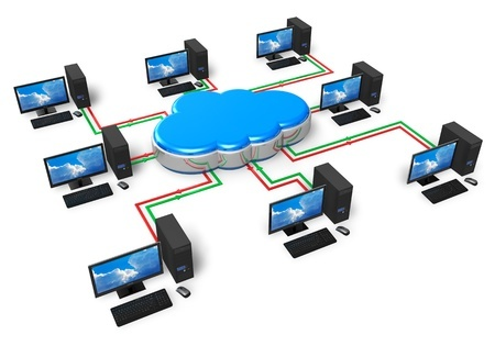 Cloud clustered load balanced hosting